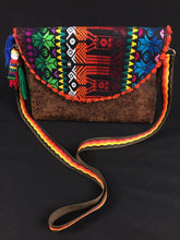 Load image into Gallery viewer, Koos Maya Embroidered Leather Clutch Colores Decor