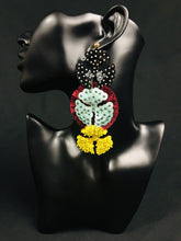 Load image into Gallery viewer, K'uinchikua Unique Mexican Handmade Trendy Dangle Womens Earrings