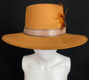 La Gaonera Mexican Artisan Boater Hat