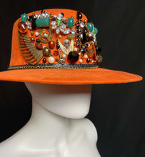 Load image into Gallery viewer, La Gitana Mexican Artisan Boater Hat