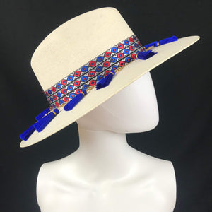 La Jefa Handmade Panama Beach Hat Colores Decor