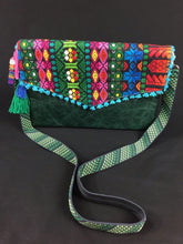 Load image into Gallery viewer, Laga Oaxaca Embroidered Leather Handbag Colores Decor