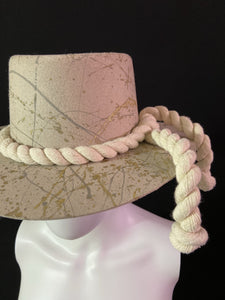 Los Cabos Handmade Boater Hat