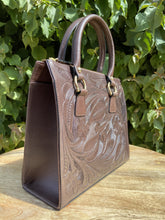 Load image into Gallery viewer, Mik Hand Tooled Leather Handbag