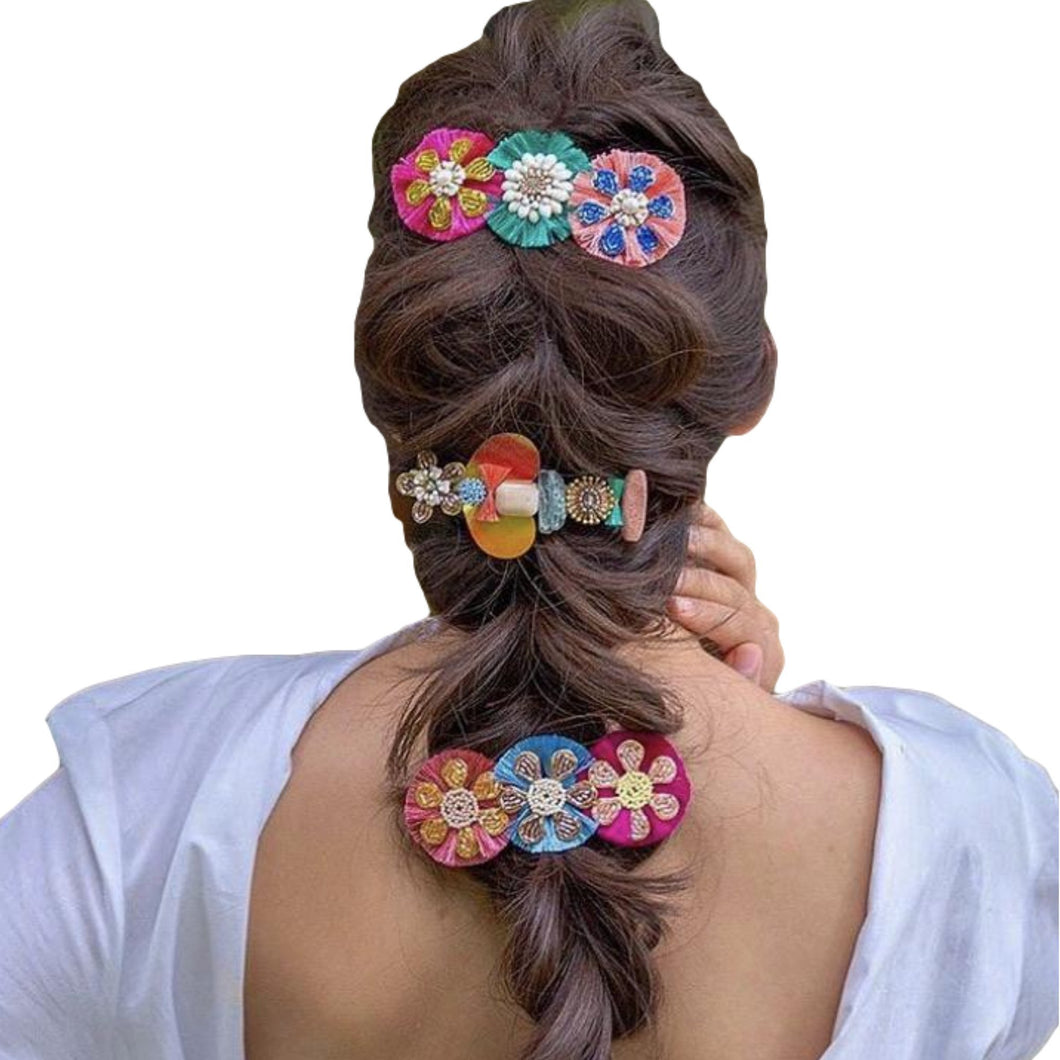 Yamel Handmade Decorative Hair Clip Colores Decor