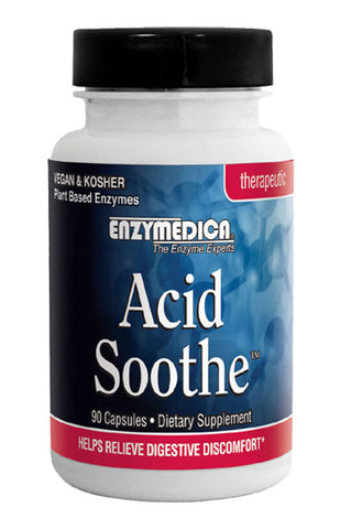 Acid Soothe 90 capsules - Enzymedica