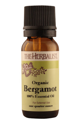 Bergamot Essential Oil 1/4 oz. - Organic