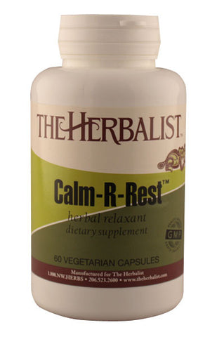 Calm-R Rest 60 capsules - Herbalist Private Label