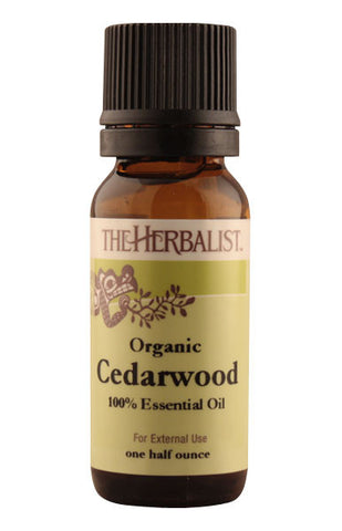 Cedarwood Essential Oil 1/2 oz (Wild crafted)