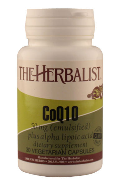 Coenzyme Q10 50mg - Herbalist Private Label