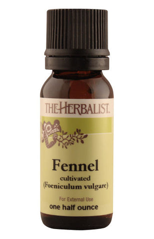 Fennel Essential Oil 1/4 oz. - Organic