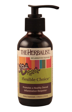 FLEXIBLE CHOICE Liquid Extract 4 oz. with pump, Inflammation and Allergy Reduction