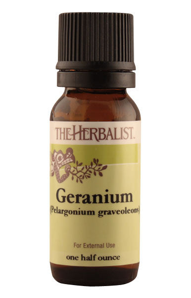 Geranium, Rose Essential Oil 1/4 oz (Organic)