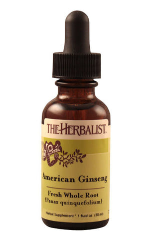Ginseng root, American Liquid Extract