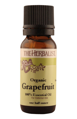 Grapefruit Essential Oil 1/2 oz (Non-sprayed)