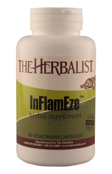 Inflam-Eze 60 caps - Herbalist Private Label