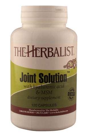 Joint Solution w/ MSM & HA 120 capsules - Herbalist Private Labe