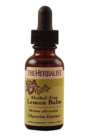 Lemon Balm herb Liquid Extract (Glycerite)