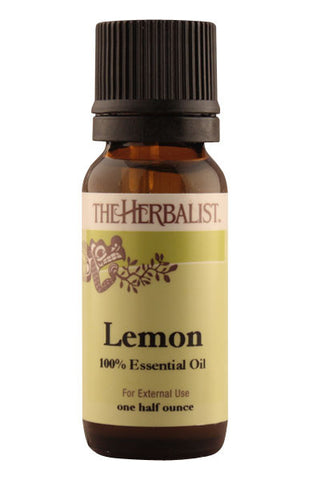 Lemon Essential Oil 1/2 oz. - Organic