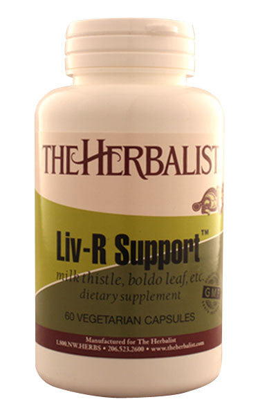 Liv-R Support 120 capsules - Herbalist Private Label