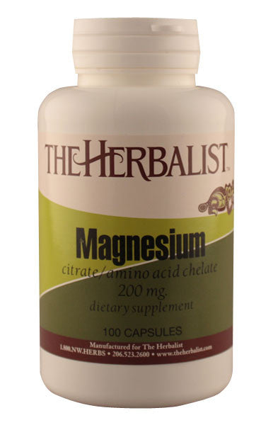 Magnesium 200mg - Herbalist Private Label