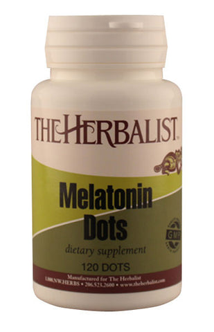 Melatonin Dots 120 ct. - Herbalist Private Label