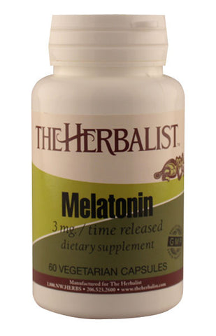 Melatonin Time Release  3 mg- Herbalist Private Label