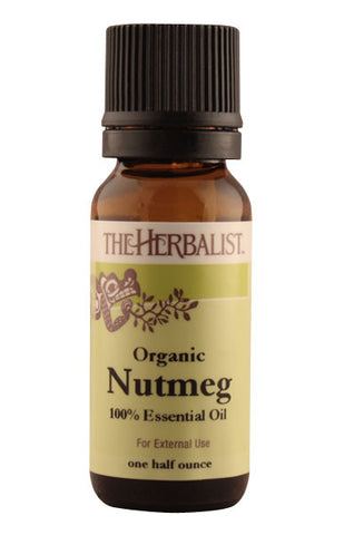 Nutmeg Essential Oil 1/4 oz. - Organic