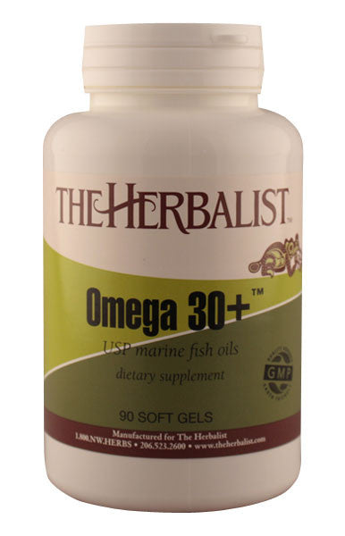 Omega 30+ Fish Oil -  Herbalist Private Label