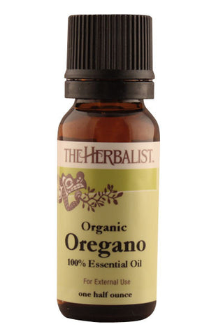 Oregano Essential Oil 1/2 oz. - Organic
