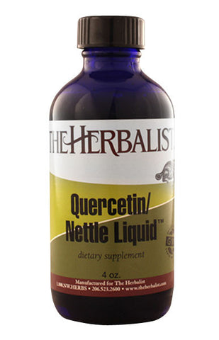 Quercetin Nettle Liquid 4 oz, Natural Antihistamine