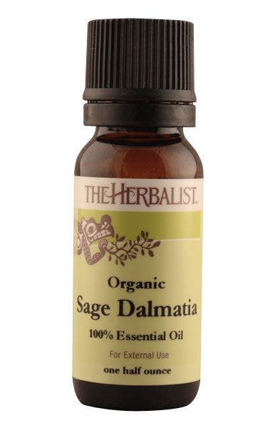 Sage Dalmatia Essential Oi 1/2 oz (Wild crafted)