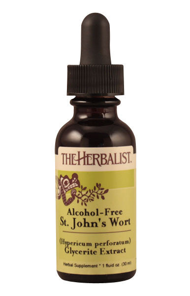 St. John's Wort flowering tops Liquid Extract (Glycerite)