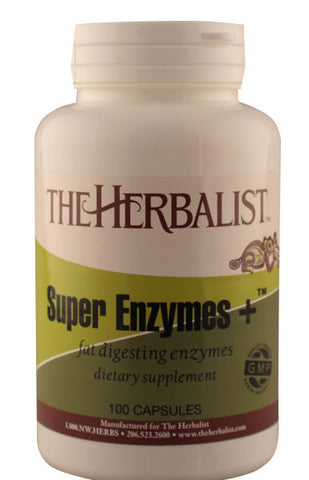 Super Enzyme + 100 capsules - Herbalist Private Label