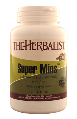 Super Mins Iron-Free 120 capsules - Herbalist Private Label
