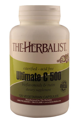 Ultimate C 500mg - Herbalist Private Label