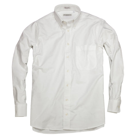 Ivy League Oxford <br> Button Down Shirt <br> White
