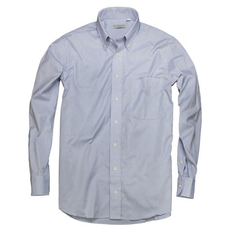 Prep School Oxford <br> Button Down Shirt <br> Gray