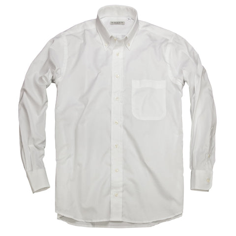 Prep School Oxford <br> Button Down Shirt <br> White