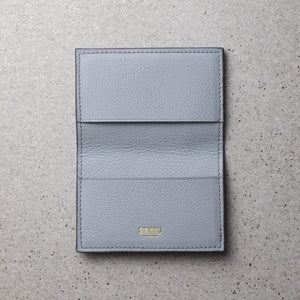 Sibirien Stockholm salmon fish leather card holder himalayan gray