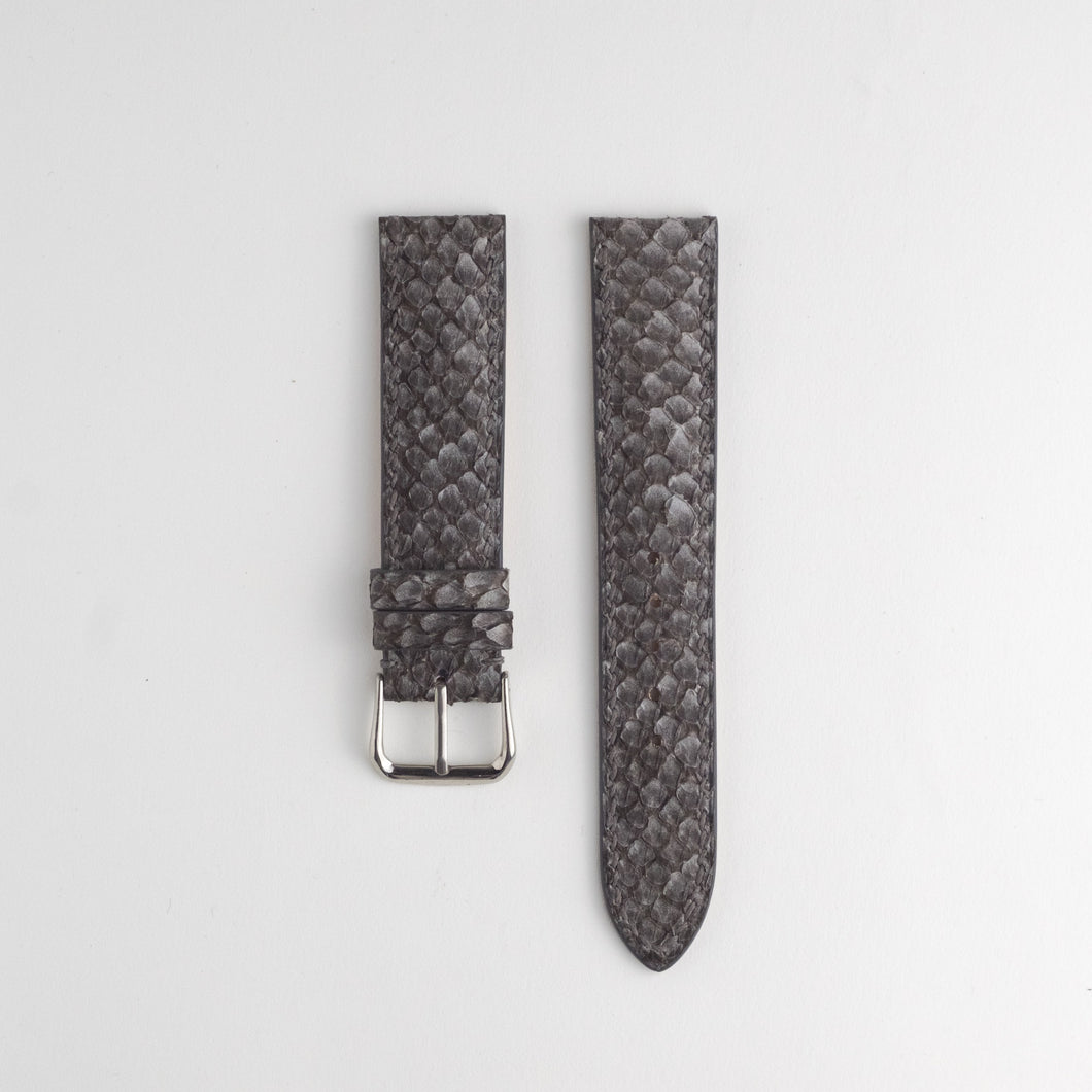 Sibirien Stockholm salmon fish leather watch strap himalayan gray