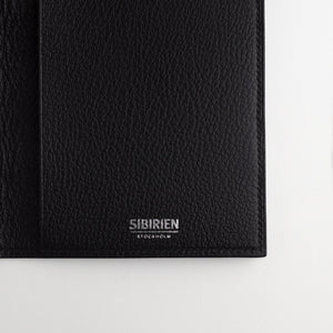 Black salmon travel wallet classic