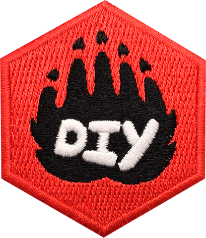 DIY Paw (Red)