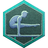 Gymnast Badge Badge