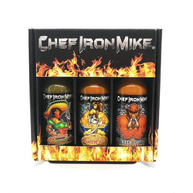 Chef Iron Mike Sauces!