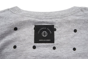 Crown Dot Heather Grey