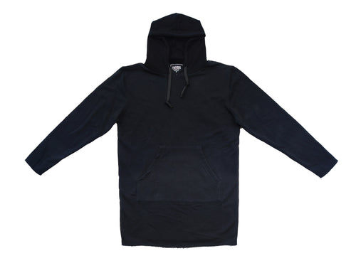 Elongated French Terry Hoodie