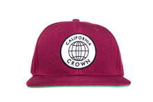 Load image into Gallery viewer, Round Trip Maroon Snapback
