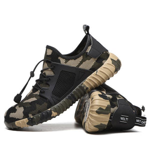 Chic Comfy Military Safety Work Shoes