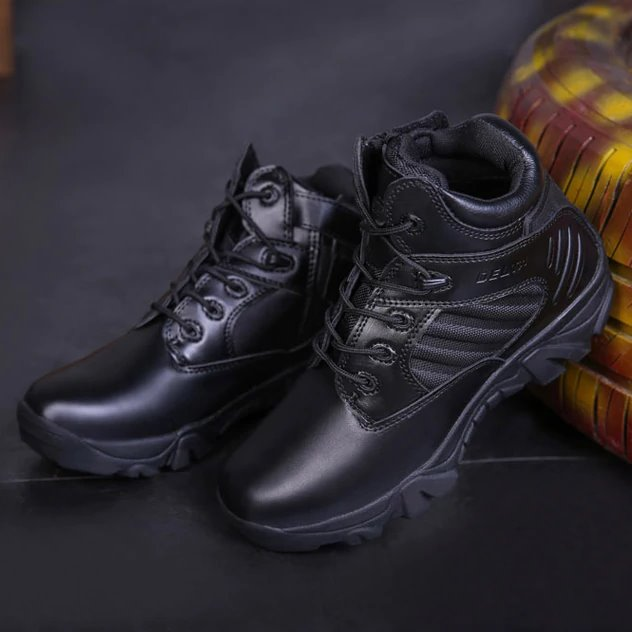 Outdoor Military Short Boots